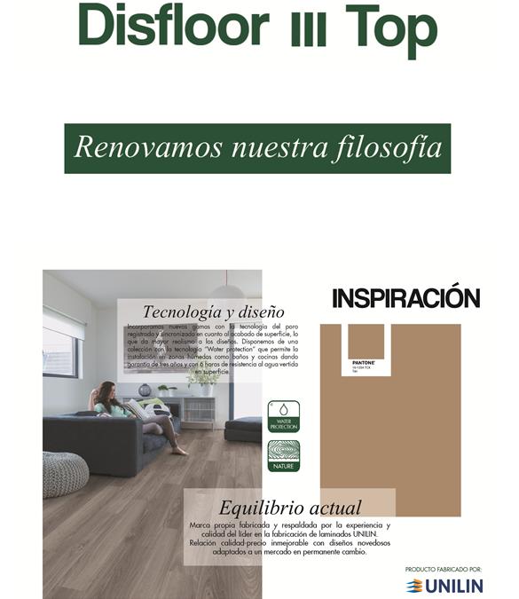 Renovamos nuestra marca: DISFLOOR TOP